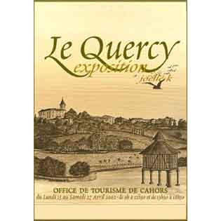 Exposition toiles «Le Quercy» Cahors 2002 Joëlle Lacourt