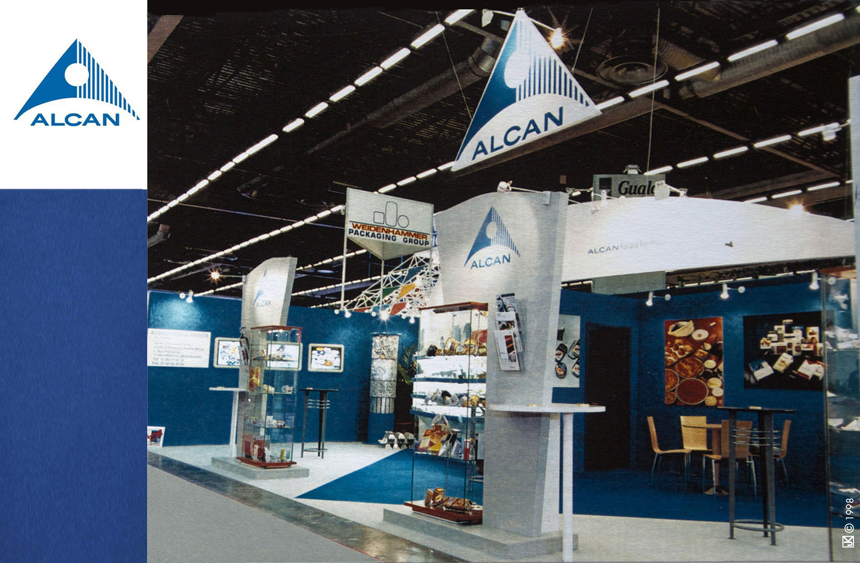 Stand Alcan Salon de l'emballage - Architecture éphémère